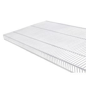 Rubbermaid Tightmesh 4 Ft x 20 in White Wire Shelf