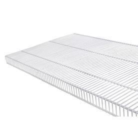 Rubbermaid Tightmesh 4 Ft x 20 in White Wire Shelf