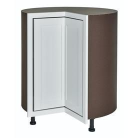 Diamond NOW Arcadia 36 in W x 35 in H x 23 75 in D TrueColor White lazy Susan Corner Base Cabinet RETAIl  217 90
