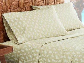 Tommy Bahama Aloha Pineapple Sheet Set  Size Twin   Green