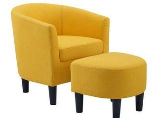 Camilla Fabric Barrel Chair Retail 156 99