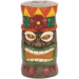 Style Selections 13 5 in H x 7 in W Tiki Garden Statue