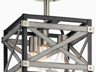 Semi Flushmount Ceiling Fixture