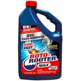 12 Roto Rooter 64 fl oz Drain Cleaners