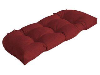 leala Ruby Texture Wicker Settee Cushion