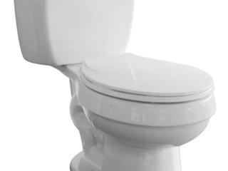 Standard White Toilet