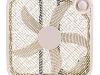 Utilitech 20in 3 speed Box Fan