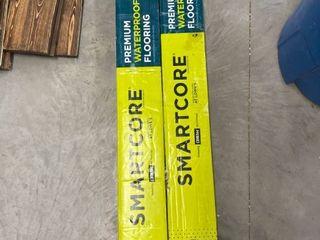Smartcore Monroe Oak luxury Vinyl Plank Flooring   2 Open Boxes