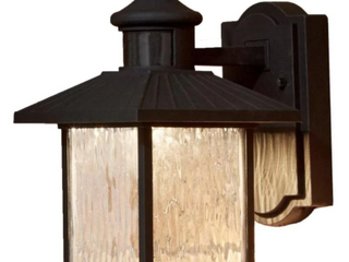 Midnight Valley Motion Activated Wall lantern