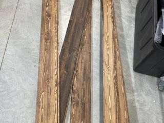 Miscellaneous Tongue and Groove Stained Wood