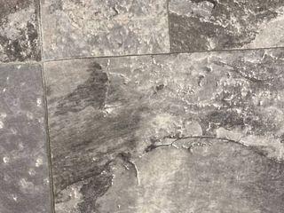 Piece of linoleum 14in x 143in Gray