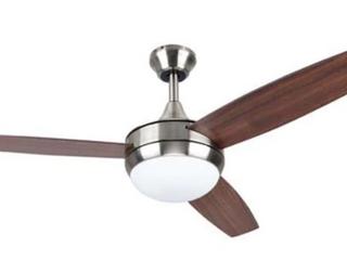 Harbor Breeze 3 Blade Brown Wooden Ceiling Fan