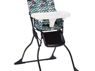 Cosco Simple Fold Full Size High Chair with Adjustable Tray  Spritz