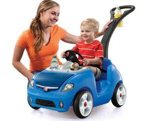 Step2 Whisper Ride II Kids Blue Ride On Push Car