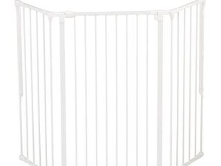 Scandinavian Pet Design Flex large and Extra Tall 35 to 88 In Safety Gate  White