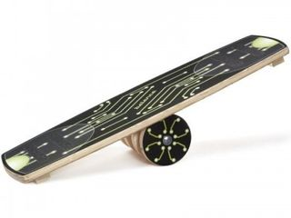 Carrom Balance Board  Green   missing roller