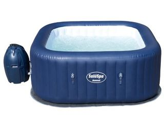 Bestway SaluSpa Hawaii AirJet 6 Person Portable Inflatable Round Spa Hot Tub