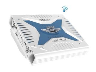 Pyle PlMRA430BT Elite Series Waterproof Bluetooth Amplifier  1000 Watt 4 Channel Bridge Ability Marine Amp  Appears preowned