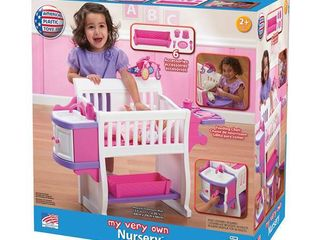 American Plastic Toys 7 Piece My Very Own Nursery Kitchen Set