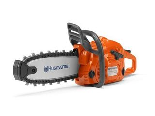 Husqvarna 440 Toy Kids Battery Operated Chainsaw with Rotating Chain  Orange