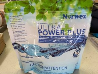Norwex Ultra Power Plus Powder laundry Detergent  Concentrated  Excellent for Cloth Diapers  Sensitive Skin  or Children s laundry  RETAIl  29 99