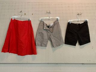3  NWT Size 2 Pieces   1 Skirt  2 Pair Shorts  Combined MSRP  119 99
