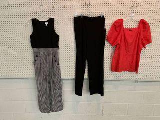 3  NWT Size 6 Pieces   1 Jumpsuit  1 Blouse  1 Pair Pants  Combined MSRP  174 99