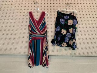 2  NWT Size 10 Pieces   1 Silk Skirt  1 Dress  Combined MSRP  154 99
