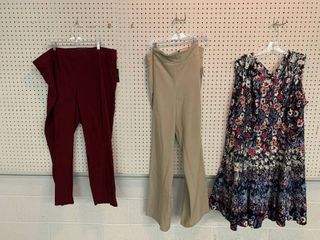 3  NWT Size 22W Pieces   1 Dress  2 Pairs Pants  Combined MSRP  174 99