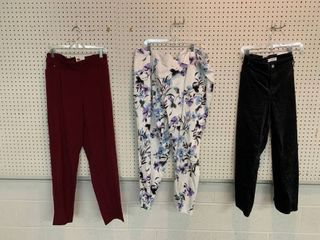 3  NWT Size 22W Pieces   3 Pairs Pants including CAlVIN KlEIN  Combined MSRP  169 99
