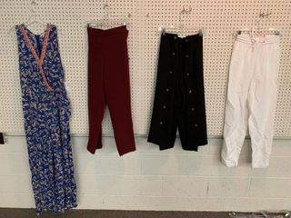4  NWT Size 22W Pieces   3 Pairs Pants  1 Jumpsuit  Combined MSRP  214 99