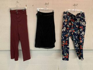 3  NWT Size 24W Pieces   2 Pairs Pants  1 Skirt  Combined MSRP  169 99