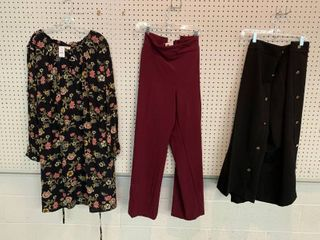 3  NWT Size 24W Pieces   2 Pairs Pants  1 Dress  Combined MSRP  179 99