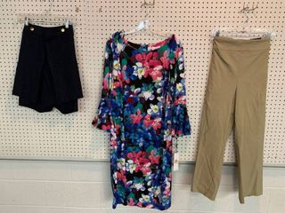3  NWT Size 24W Pieces   1 Dress  CAlVIN KlEIN  1 Skirt  1 Pair Pants  Combined MSRP  184 99