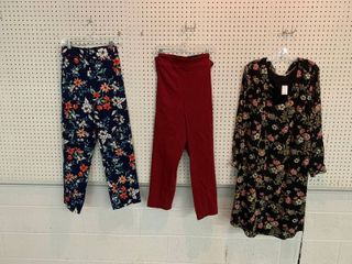 3  NWT Size 24W Pieces   1 Dress  2 Pairs Pants  Combined MSRP  134 99