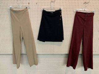 3  NWT Size 24W Pieces   1 Skirt  2 Pairs Pants  Combined MSRP  134 99