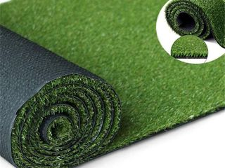 Artificial Grass Turf Rug 3  x 11 6    Sturdy Rubber Backing  RETAIl  52 99
