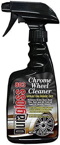 6 BOTTlES Duragloss Chrome Wheel Cleaner  RETAIl  68 82