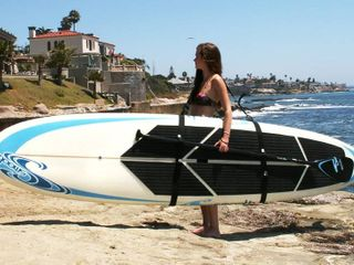 Better Surf than Sorry Big Board Schlepper Stand Up Paddleboard Easy Carry Strap SUP Shoulder Sling Holder Board Carrier  RETAIl  39 99