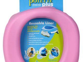 Kalencom Potette Plus At Home Reusable Potty liners  Pink  RETAIl  14 99