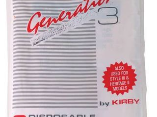 lOT OF 6 Kirby Generation 3 Vacuum Bags  RETAIl  14 28