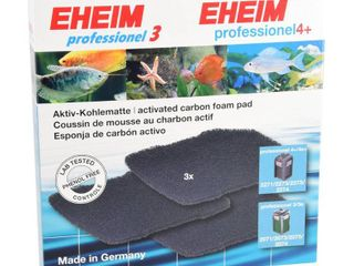 Eheim Activated Carbon Pads for Filter 2071 2075 2074 Pro 4 2271 2272 2273 2274 2275   3 pk  RETAIl  26 99