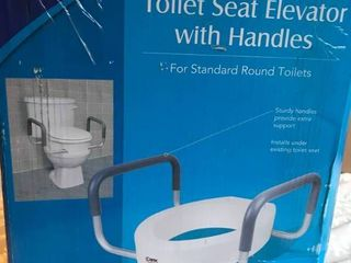 Carex Toilet Seat Elevator with Handless