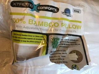 Bamboo Pillow King size   Full size Bedspraed