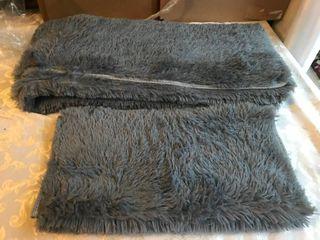 Two floor mats