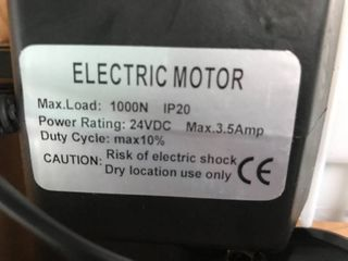 Electric Motor lifter 1000N