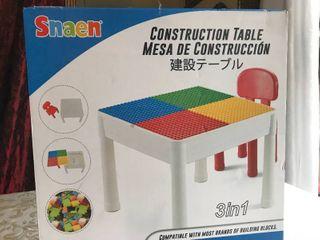 Snaen Constrution Table