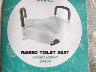 Vive Raised Toilet Seat