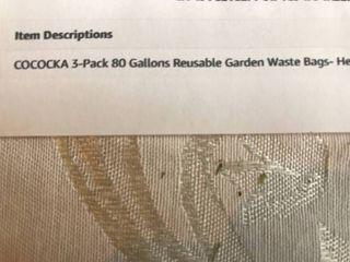 Cococka Reusable Garden Waste 2 bags