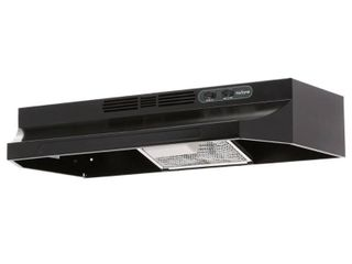 Broan NuTone Rl6200 Series 30 in  Ductless Under Cabinet Range Hood with light in Black